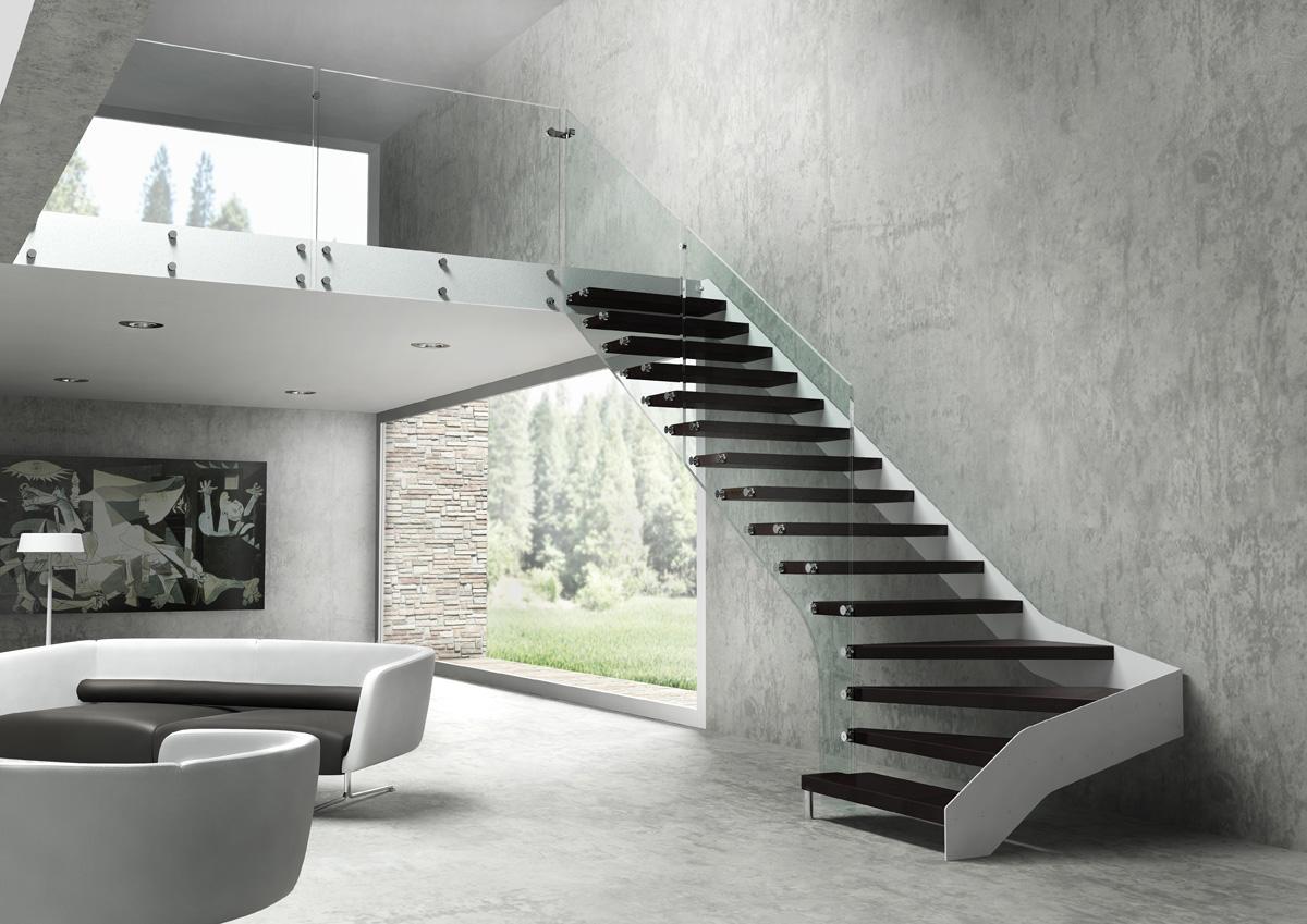 Scale di design in acciaio a Rovigo